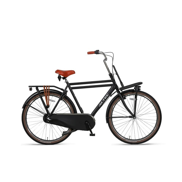 Altec-Dutch-28inch-Transportfiets-Heren-61cm-Zwart-2019