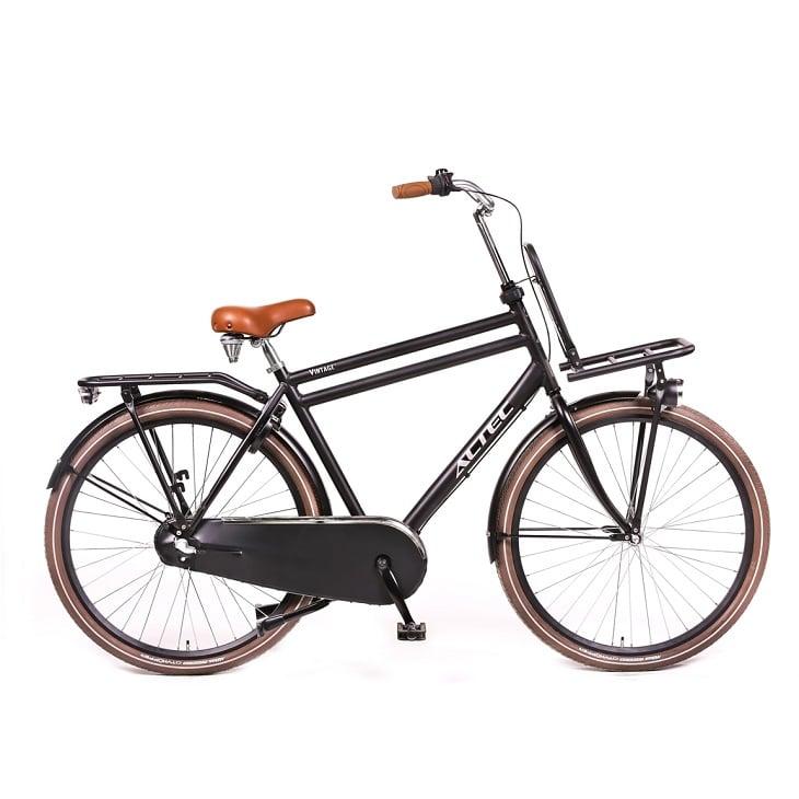 Altec-Vintage-28-inch-Transportfiets-Heren-Zwart-57cm