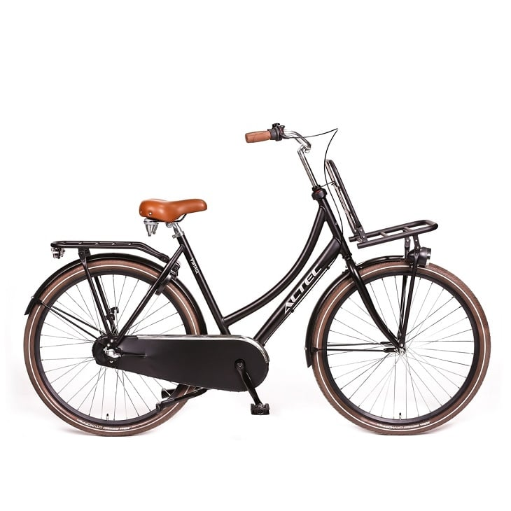 Altec-Vintage-28-inch-Transportfiets-mat-Zwart-50cm
