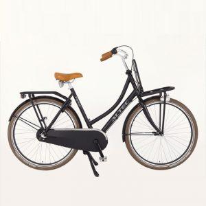 Altec-vintage-n3-transportfiets-28-inch-mat-zwart