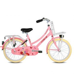 vogue transporter transportfiets roze