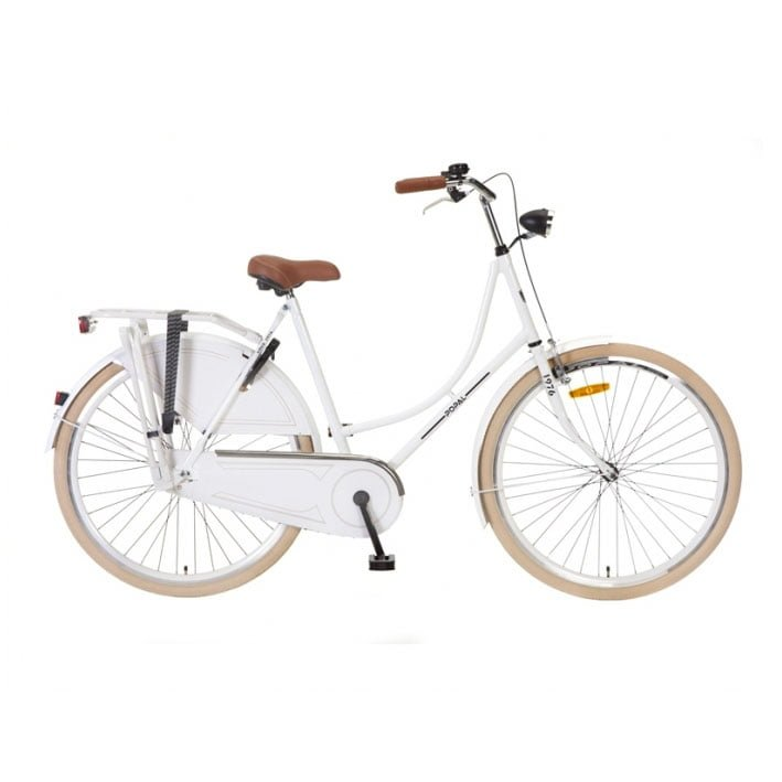 Popal omafiets 28 inch white