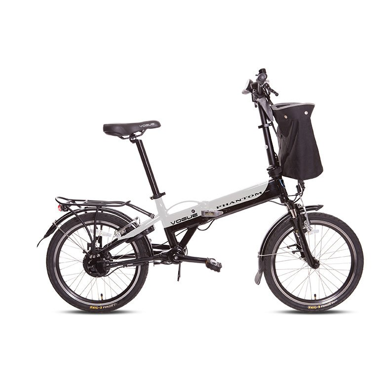 Vogue Phantom E-bike vouwfiets 20 inch silver