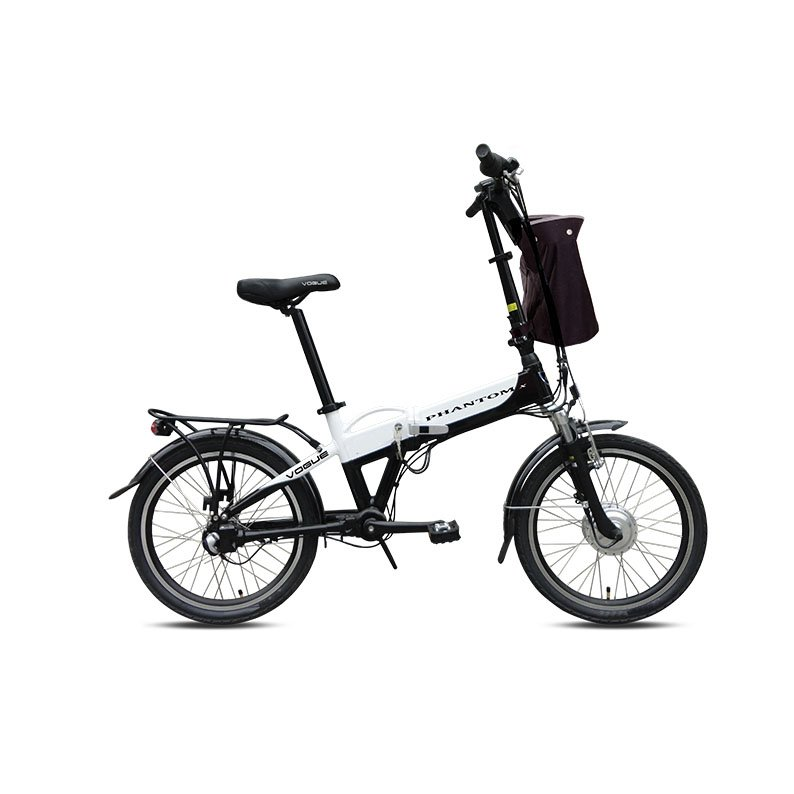 Vogue Phantom N3 E-bike vouwfiets 20 inch Silver