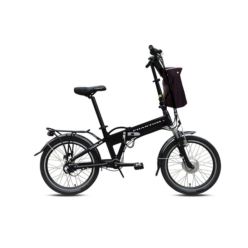 Vogue Phantom N3 E-bike vouwfiets 20 inch black