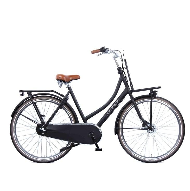 Altec-Retro-Transportfiets-Dames-Zwart-50-cm
