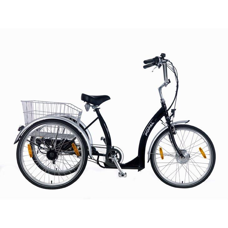 driewieler-e-luxe-zwart