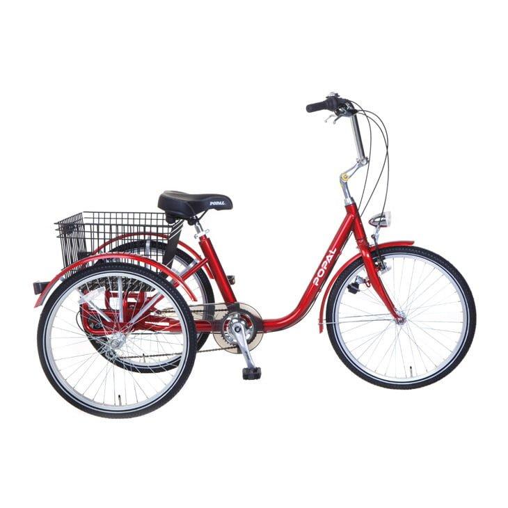 senioren-driewieler-rood