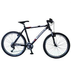 Bikkel A1 ATB MTB 21 inch Shimano Alivio rood zwart