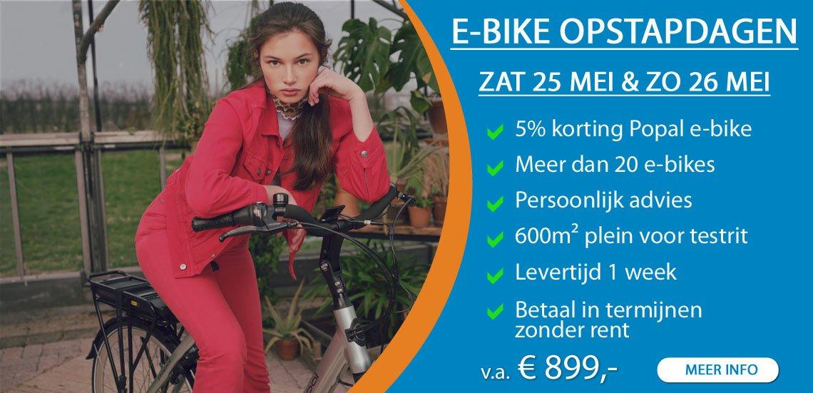 e-bike opstapdagen fietsenwinkel barendrecht