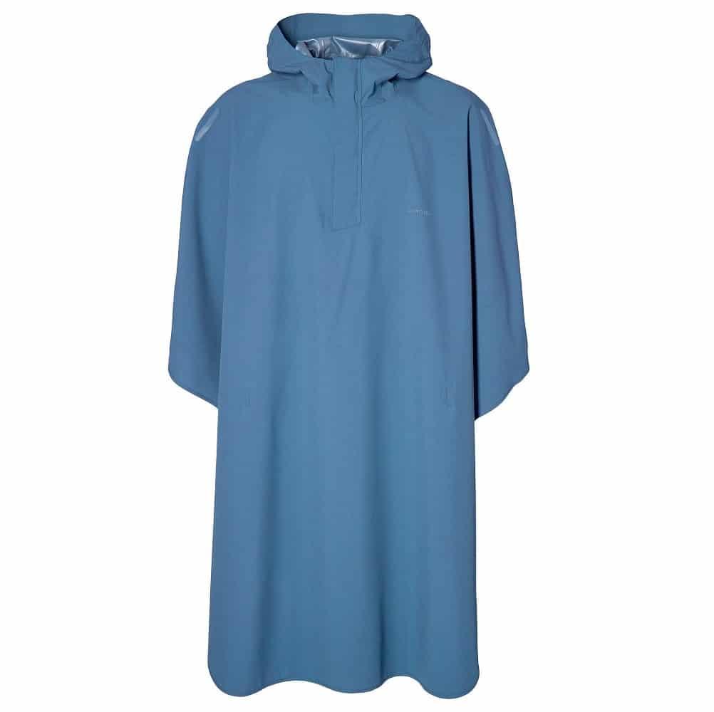Basil poncho Hoga unisex Horizon Blue one size