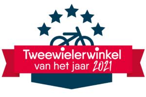 Tweewielerwinkel van het jaar 2021 – foto