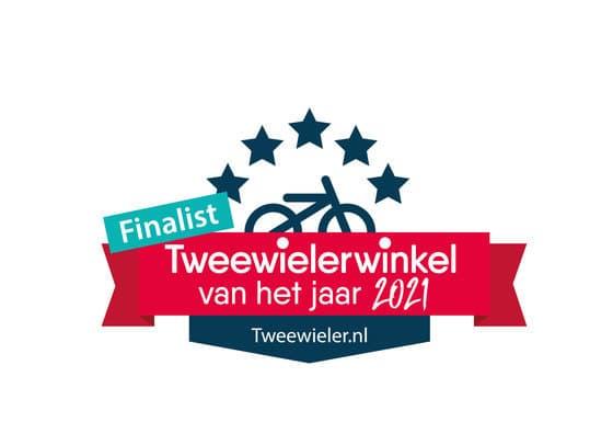 Tweewieler van het jaar 2021 Fietsenwinkel Barendrecht